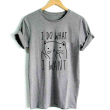 Women's Casual Cotton with Funny Print