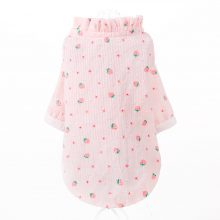 Cat Pink Strawberry Sunscreen Clothes